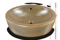 Carrelage - Décoration - Vasque 55 x 43 ovale à poser - Salle de Bains - Faïence de Provence à Salernes