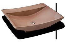 Carrelage - Décoration - Volubilis vasque 40 x 53 à poser- Cuisine - Salle de Bains - Faïence de Provence à Salernes