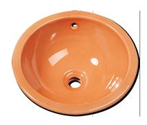 Carrelage - Décoration - Vasque Ronde Diamètre 44- Cuisine - Salle de Bains - Faïence de Provence à Salernes