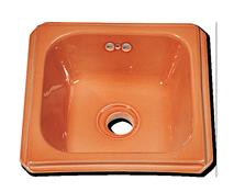 Carrelage - Décoration - Lave Mains carré 33 x 33- Cuisine - Salle de Bains - Faïence de Provence à Salernes